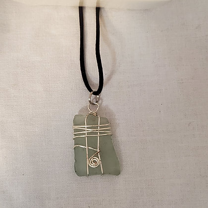 Sea Glass Pendant - I