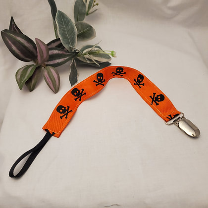 Jolly Rogers Pacifier Clip