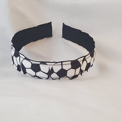 Soccer Reversible Headband with Cover