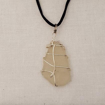 Sea Glass Pendant - E