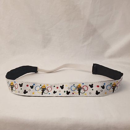 Olympic Mouse Headband with Elastic