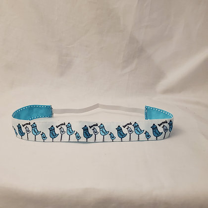 Tweet Elastic Headband