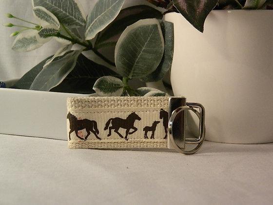 Horses Mini Key Fob