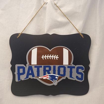 New England Patriots Sign