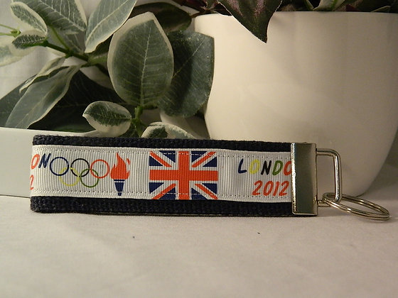 Olympic Mouse Wristlet Key Fob