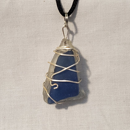 Sea Glass Pendant - R