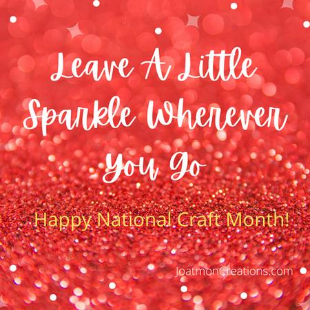 Leave A Little Sparkle Wherever You Go.p