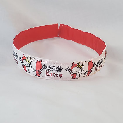 Hello Kitty Angel & Devil Reversible Headband with Cover