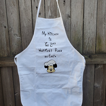 My Kitchen is the 2nd Happiest Place Apron