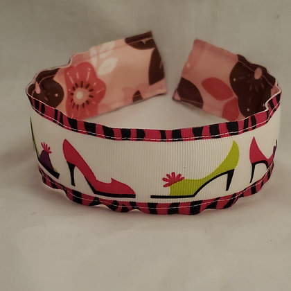 Shoes Reversible Headband with Cover (Wide)