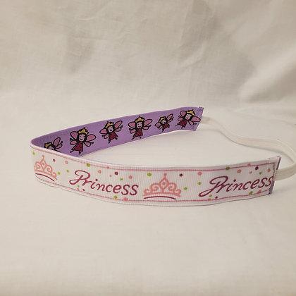 Princess and Purple Faries Elastic Headband