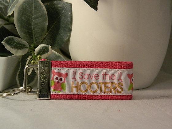 Save the Hooters Mini Key Fob