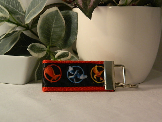 Hunger Games Mini Key Fob