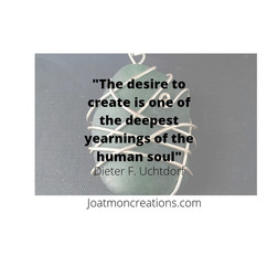 The Desire To Create is One of the Deepest Yearnings