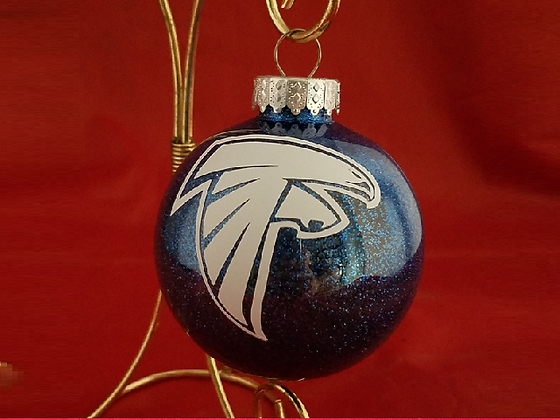Danvers Falcons Ornament - Round