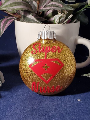 Super Nurse Ornament