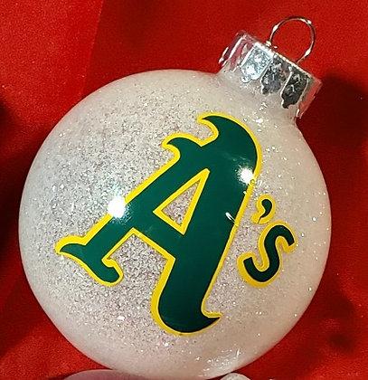 Oakland A's Ornament