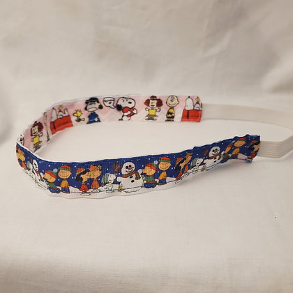 Peanuts Reversible Headband with Elastic