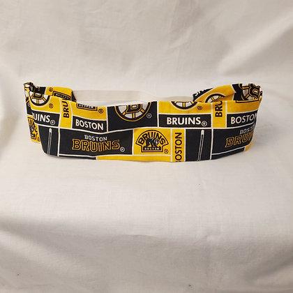 Boston Bruins Fabric Headband with Elastic