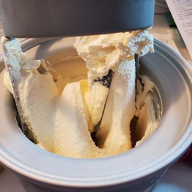Ben & Jerry's Knock-off Orange Cream Dream Ice Cream