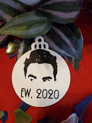 Schitt$ Creek Ew 2020 Wooden Ornament