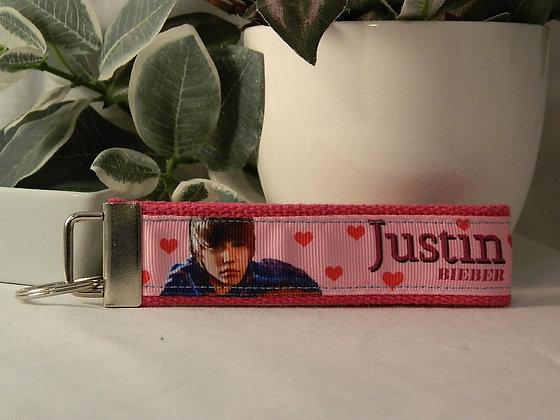 Justin Bieber Wristlet Key Fob