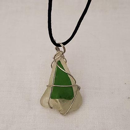 Sea Glass Pendant - M