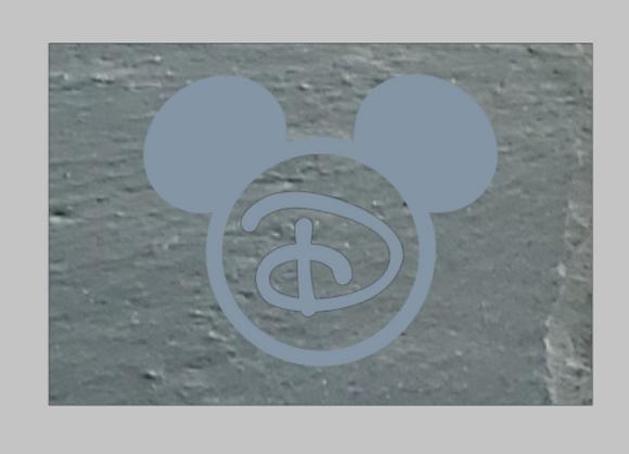 Custom Disney Monogram Platter