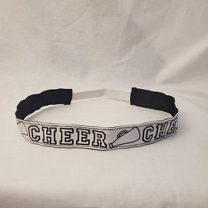 Cheer Reversible Headband with Elastic