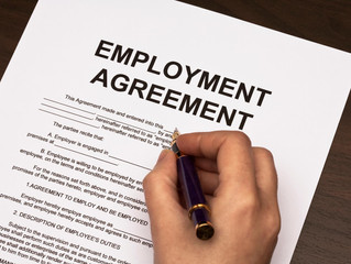 Determining Employment Status - Employee v. Independent Contractor