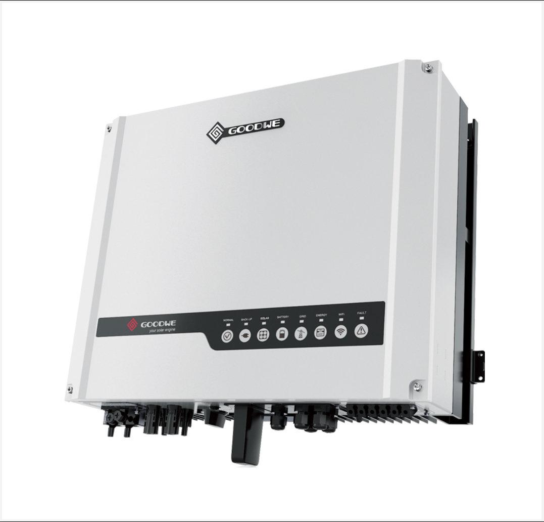 Goodwe 4 6kw Hybrid Inverter Solarcity