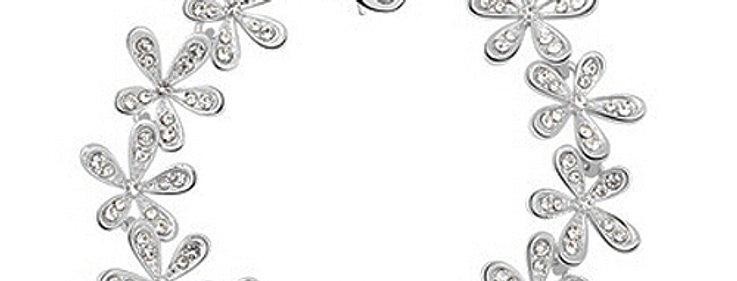 Silver Shoppee Charm Bracelet for Women (Silver) (SSBR0928A)