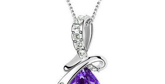 Silver Shoppee Pendant for Women (Silver) (SSPD0520E)