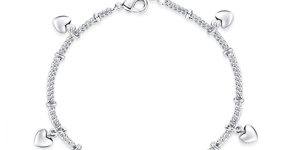 Silver Shoppee Silver Bracelet for Girls and Women (SSBR1074)