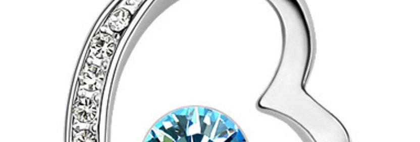 Silver Shoppee Pendant for Women (Silver) (SSPD0215A)