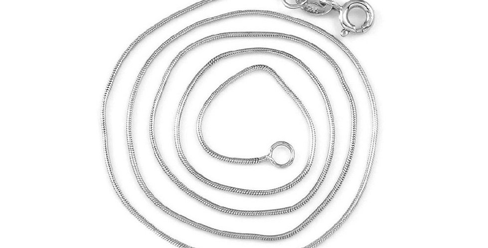 Silver Shoppee Silver Plated Chain for Girls (Silver) (SSCH1109)