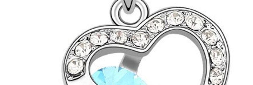 Silver Shoppee Pendant for Women (Silver) (SSPD0558A)