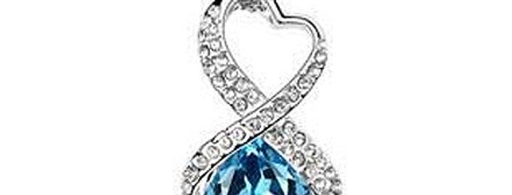 Silver Shoppee Pendant for Women (Silver) (SSPD0543A)