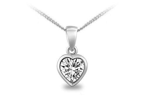 Silver Shoppee Pendant for Women (Silver) (SSPD0249A)