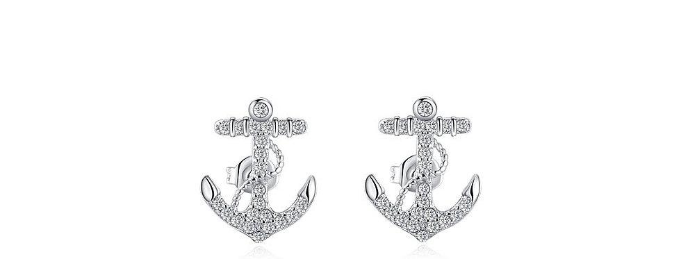 Silver Shoppee Jhumki Earrings for Women (Silver) (SSER1268)