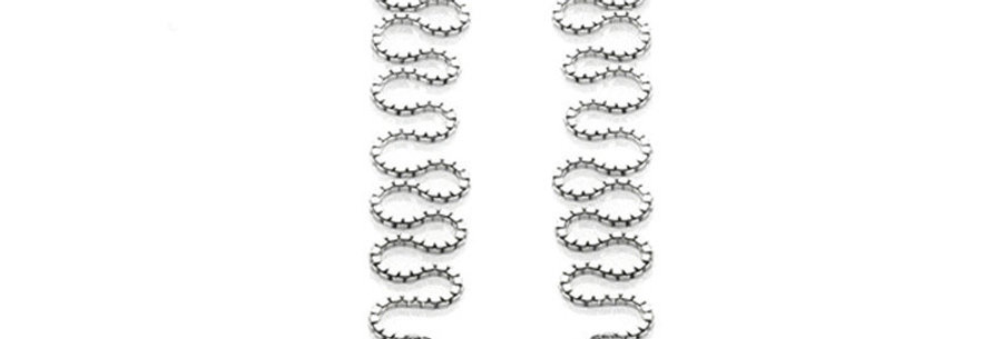 Magical Stitch Sterling Silver Earrings for Girls and Women (SSER1395)