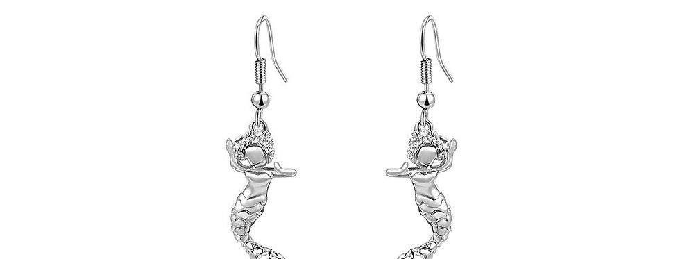 Silver Shoppee Jhumki Earrings for Women (Silver) (SSER1327)