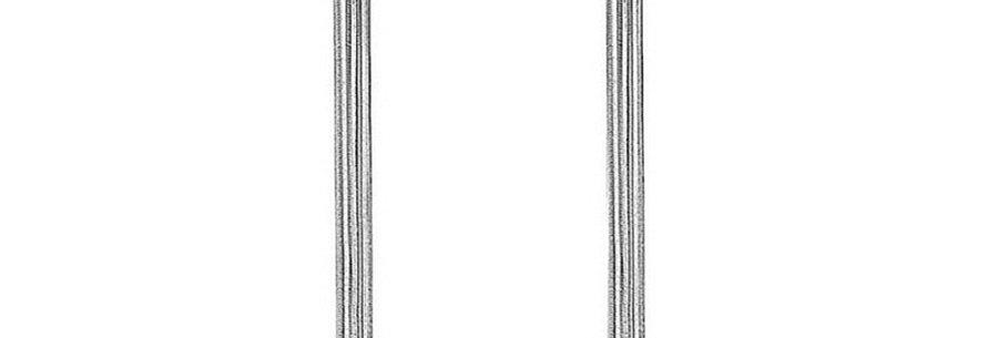 Silver Shoppee Silver Plated Jhumki Earrings for Women (Silver) (SSER1404)
