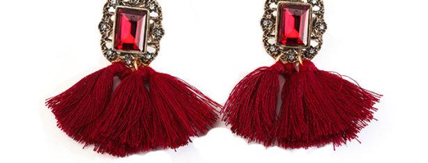 Silver Shoppee 'Tassel' Earrings for Girls and Women (SSER1369B)