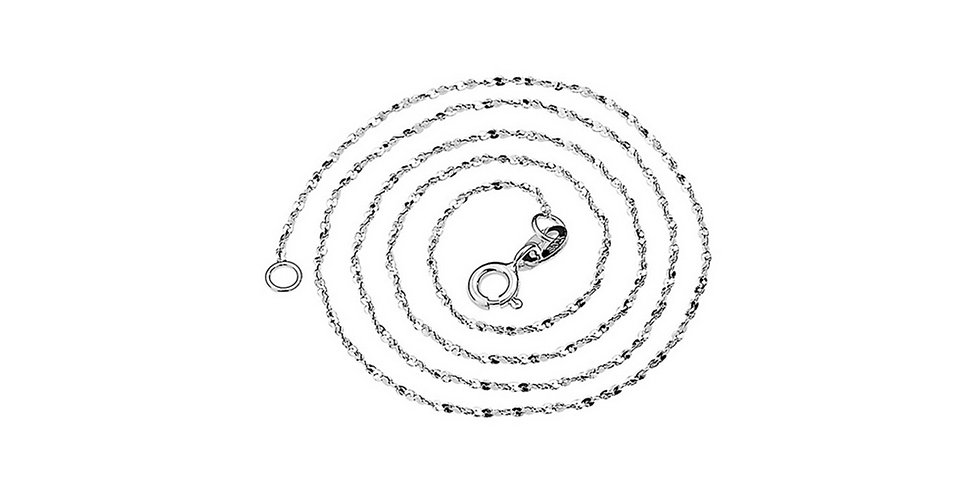 Silver Shoppee Silver Plated Chain for Girls (Silver) (SSCH1104)
