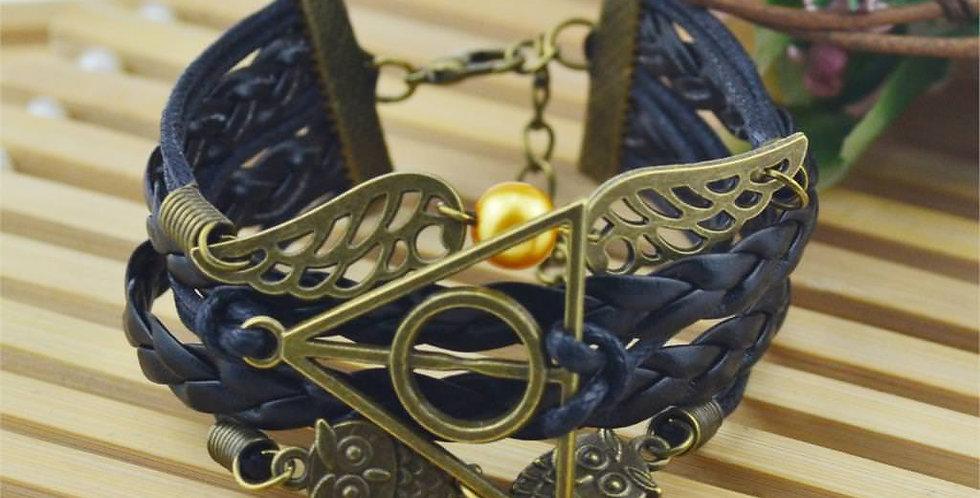 Silver Shoppee All Seeing Eye Bracelet for Men and Boys (SSBR1060A)