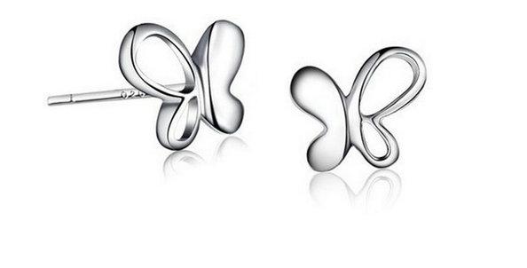 Fiery Wings Sterling Silver Earrings for Kids, Girls and Women (SSER1378)