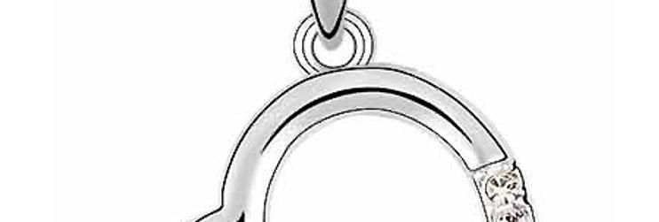 Silver Shoppee Pendant for Women (Silver) (SSPD0568B)