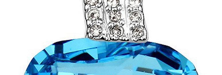 Silver Shoppee Pendant for Women (Silver) (SSPD0259A)