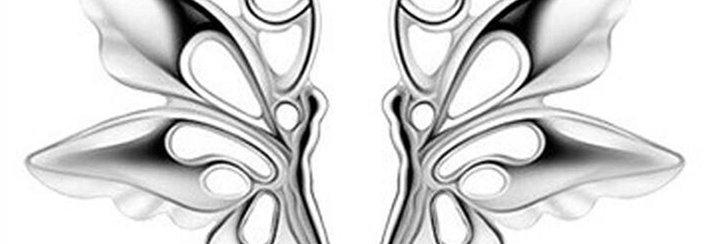 Free Spirit Sterling Silver Earrings for Kids, Girls and Women (SSER1380)